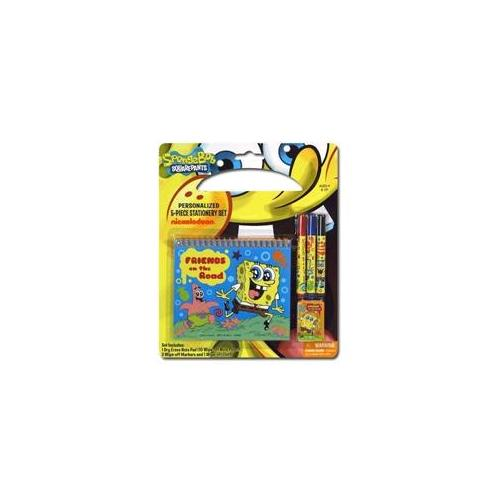 DDI 914160 Sponge Bob Personalized 5Pc Stationery Set Case Of 96