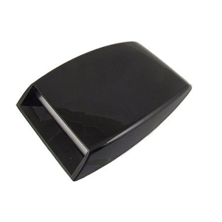 Auto Car Sticky Black Air Flow Vent Hood Scoop Decor