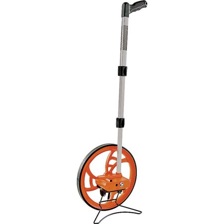 Road Runner Professional Large Measuring Wheel, 9999.9 ft, 12-1/2 in Dia, 3 ft Circumference