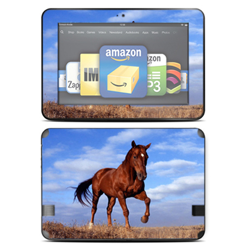 "Mightyskins Protective Skin Decal Cover for Amazon Kindle Fire HD 8.9"" inch Tablet wrap sticker skins Horse"