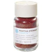 Martha Stewart Iridescent Glitter 1.48oz-Candy Apple