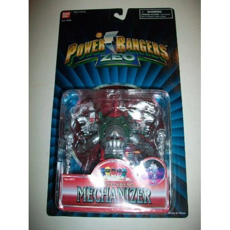 Power Rangers Zeo 1996 Evil Space Alien Missile Firing Mechanizer NEW Action Figure 5 (Power Rangers In Space A Ranger Among Thieves)