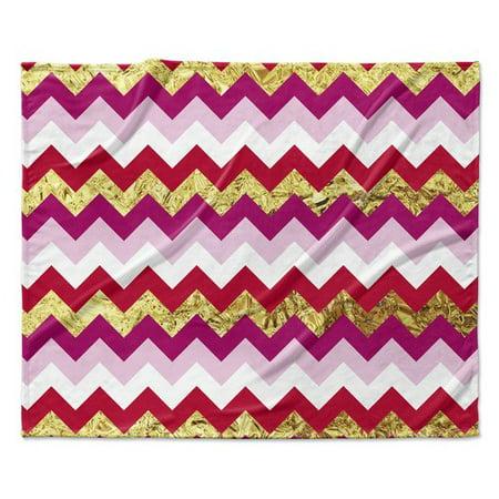 KAVKA DESIGNS Valentine Chevron Throw Blanket Walmart Enchanting Pink Chevron Throw Blanket