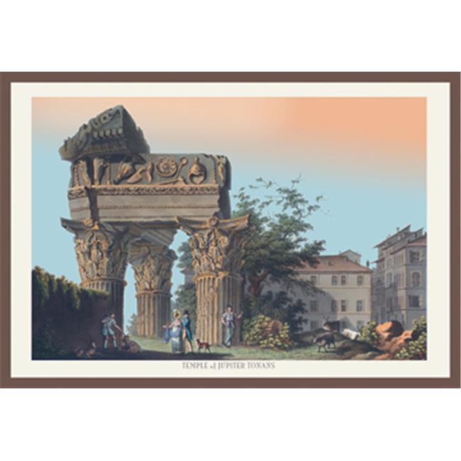 Buy Enlarge 0-587-15833-6P20x30 Temple of Jupiter Tonans- Paper Size P20x30