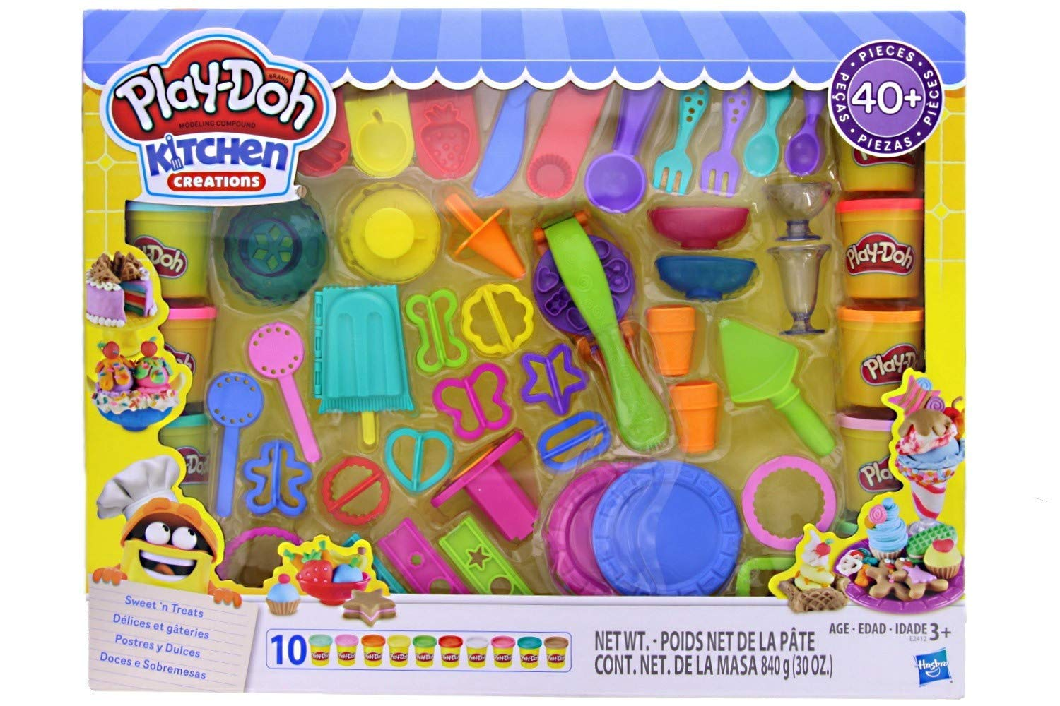 Play Doh Kitchen Creations Ultimate Sweet N Treats Set