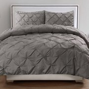 Sweet Home Collection Luxurious Pinch Pleat 3 Piece Comforter Set