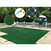 WaterWarden Mesh Safety Pool Cover With Right Side Step