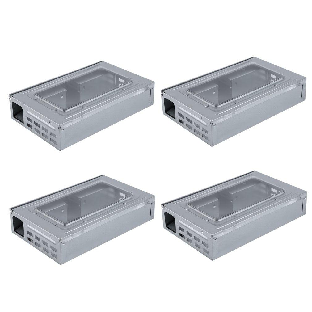 Popular 4PCS Mouse Live Trap Boxes Multi Catch Mice Conti...