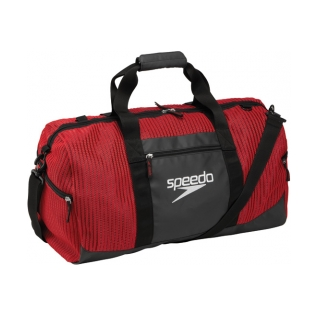 Speedo 40L Ventilator Duffle Bag Swim Swimming Gear Sport Equipment, Black Black by Speedo