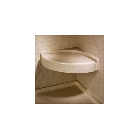 Swan CS-1616-010 Composite Wall Mounted Shower Seat, Available in ...