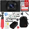 Sony Cyber-Shot DSC-RX100 Digital Camera with 1 Year Extended Warranty Plus 64GB Triple Battery Bundle E19SNDSCRX100 Box Includes: RX100 CameraMicro USB cableInstruction ManualBattery NP-BX1Wrist StrapAC Adaptor AC-UD10/11Shoulder Strap AdaptorBundle Includes: RX-100 Camera1 Year Extended Warranty (in addition to Manufacturer Warranty)Kodak Pro Camera Case for Digital Cameras (Black)2x Extra BatteriesSandisk Ultra SDXC 64GB UHS Class 10 Memory Card, Up to 80MB/s Read Speed12 Red Rubberized TripodLCD/Lens Cleaning PenProfessional Cleaning KitMemory Card Reader with WalletBX1 Battery ChargerScreen ProtectorsMicrofiber Cloth