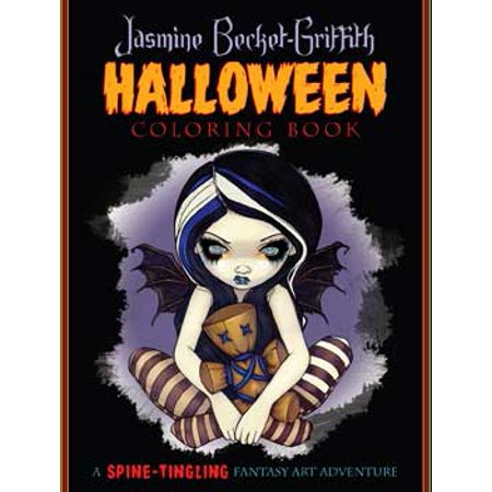 Party Games Accessories Halloween Séance Coloring Book by Jasmine Becket-Griffith