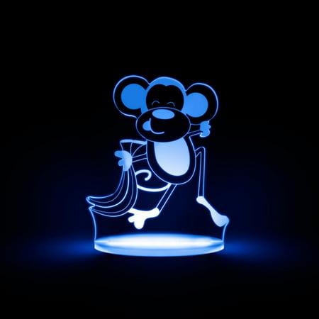 Total Dreamz Monkey Multicolored LED Night Light
