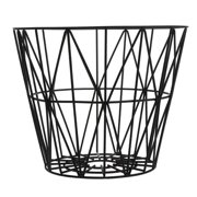 FERM LIVING 3060 Small Wire Basket - Black