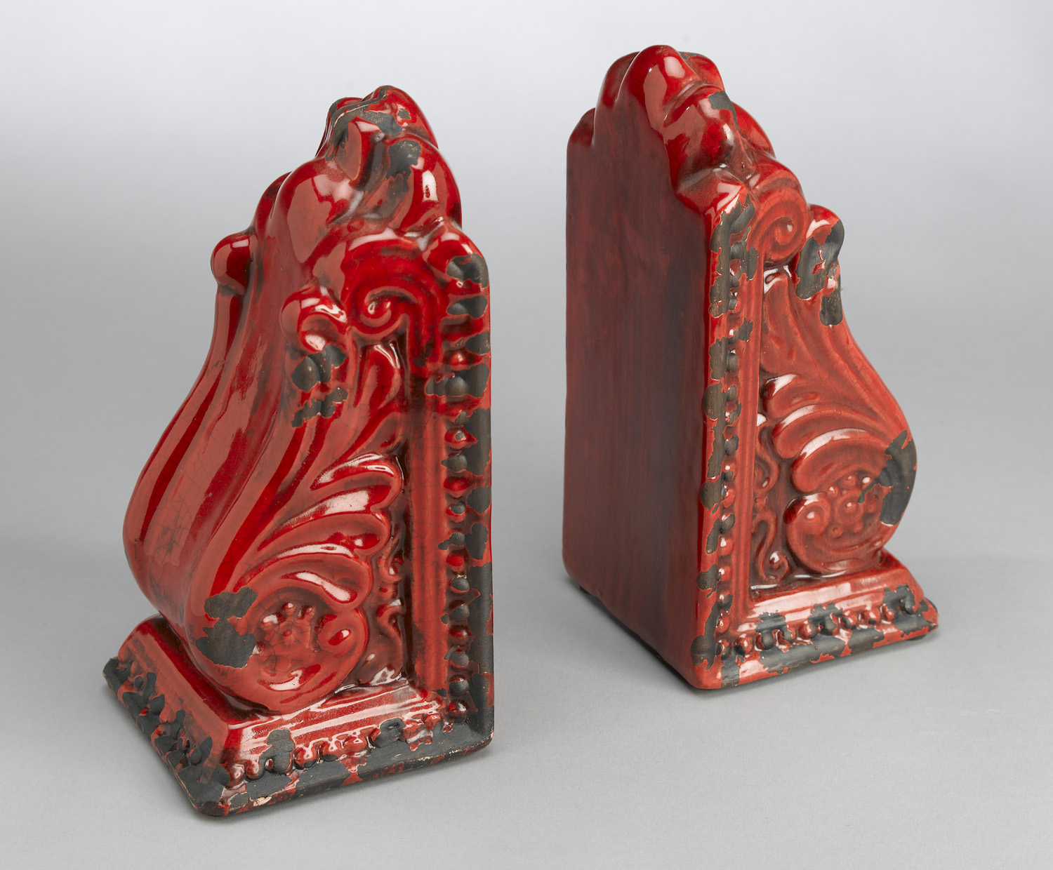 AA Importing 10825-rd Red Bookend Pair by AA Importing