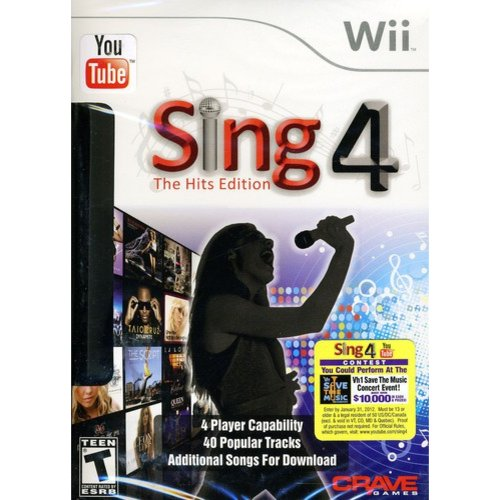 Sing4: The Hits Edition with microphone (Wii)