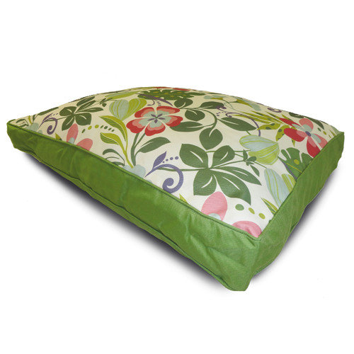 Home Fashions International O'Fun Floral Dog Pillow