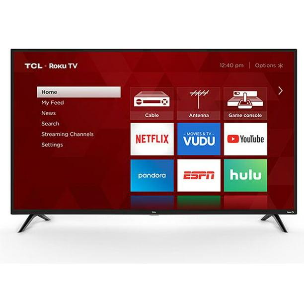 Tcl 32 Class 720p Hd Led Roku Smart Tv 3 Series 32s331 Walmart Com Walmart Com