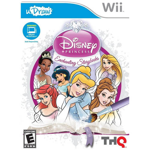 uDraw Disney Princess: Enchanting Storybooks (Wii)