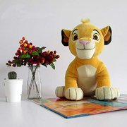 BIBOBO 1piece 30cm 11.8'' The Lion King Simba Doll Young Simba Stuffed Animals Plush Soft Toys Children Boy Gifts