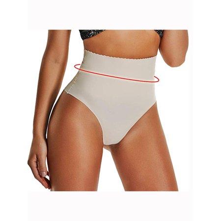 20bee623f3d9 Lelinta - LELINTA Thong Underwear for Women Thongs Shapewear High Waist  Cincher Panty Tummy Slimmer Sexy Panties Seamless - Walmart.com