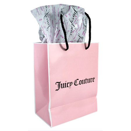 Juicy Couture Tissue Paper and Pink Gift Bag With  Juicy Couture  Imprint.  - Walmart.com d582ceb123f3