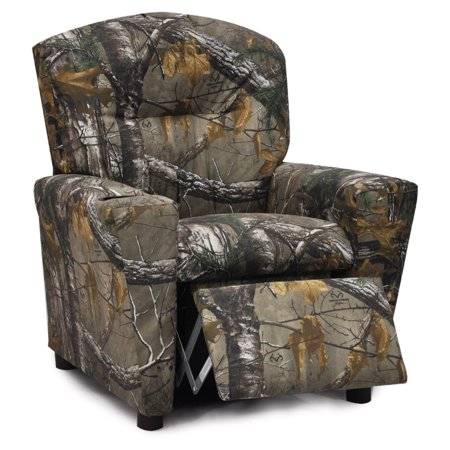 Kidz World Real Tree Camouflage Kids Recliner Walmart Com