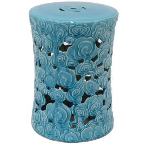 Three Hands Ceramic Garden Stool Walmart Com