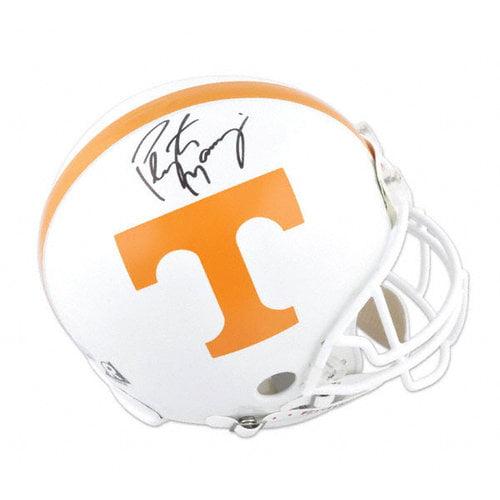 NCAA - Peyton Manning Autographed Pro-Line Helmet   Details: Tennessee Volunteers, Authentic Riddell Helmet