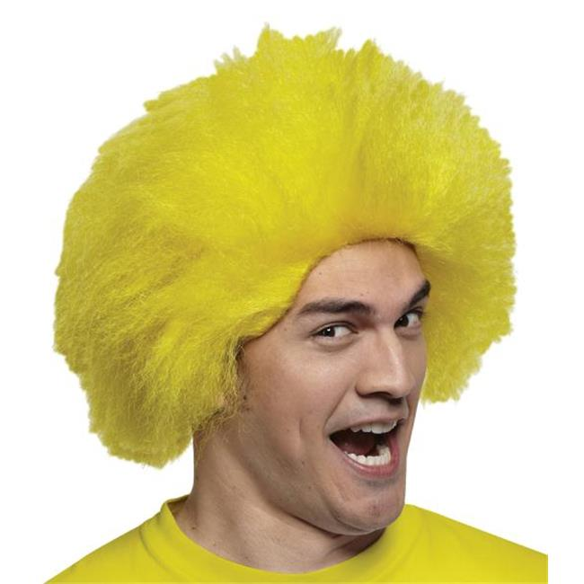 Costumes For All Occasions MR179532 Wig Fun Wig Yellow