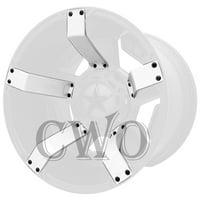 White XD Series XD811 Rockstar II Inserts For 22x9.5 +12mm Offset Wheel