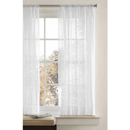 Better Homes And Gardens Crushed Voile Curtain Panel by Better Homes & Gardens