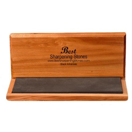 Arkansas Knife Sharpening Stone - Black Surgical