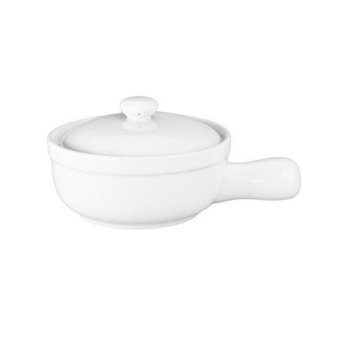 BIA Cordon Bleu 10 oz. Soup Bowl with Lid (Set of 4) by BIA Cordon Bleu