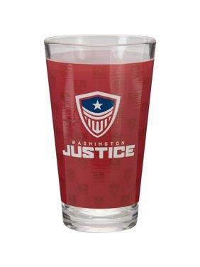 Washington Justice Overwatch League 16oz. Sublimated Pint Glass