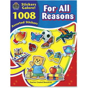 Teacher Created Resources, TCR4226, Reasons Stickers Galore Book, 1008 / Pack, Assorted