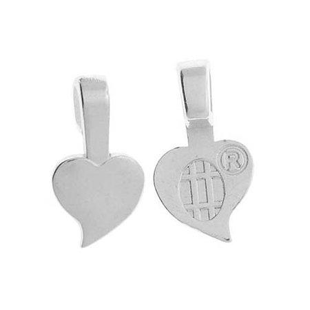 Aanraku heart shaped glue on pendant bails small 10 pieces aanraku heart shaped glue on pendant bails small 10 pieces silver aloadofball Gallery