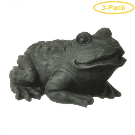 Frog Garden Spitter - Tetra Pond Frog Pond Spitter Small (7L x 6W x 3.8H) - Pack of 3