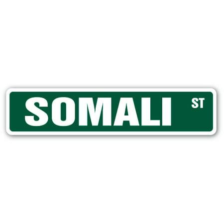 "SOMALI Street Sign cat breed feline kitty kitten | Indoor/Outdoor | 24"" Wide"