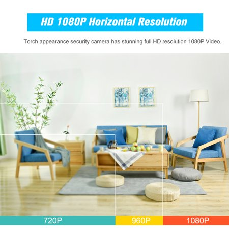 1080P WiFi IP camera 360 Degree Panoramic Navigation Pan/Tilt Wireless Camera CCTV Baby Monitor WiFi Camera for Baby/Nanny/Elder/Dog/Pets Monitoring with APP, Pan/Tilt, 2-way Audio, Motion Detection H - image 4 of 7