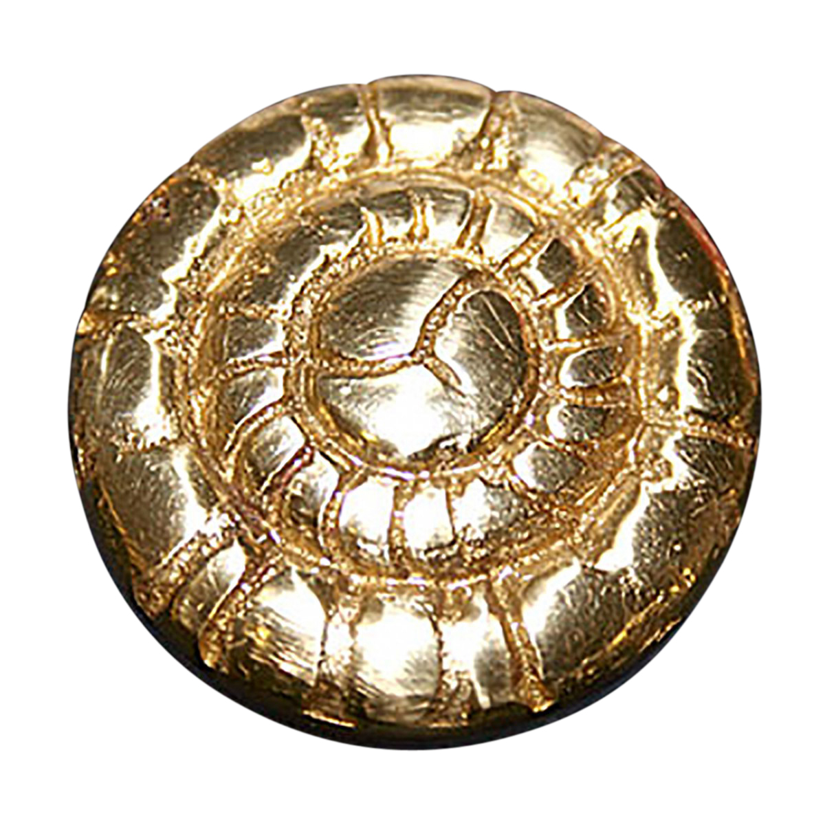 "2"" Tubing End Plug Decorative Cap Polished Solid Brass | Renovator's Supply"