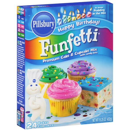 Cupcake Recipes With Funfetti Cake Mix