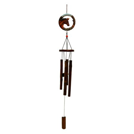 (Great World Horse Bamboo Wind Chime)