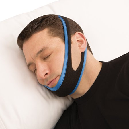 Bedtime Anti-Snore Chin Strap - Comfortable Design Cradles Jaw for Optimal Position to Reduce Snoring, Large,