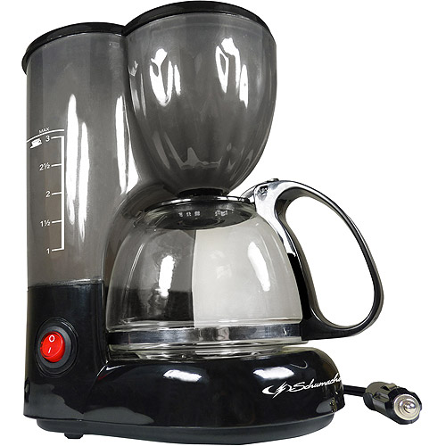 Schumacher 12V Coffee Maker, 3-Cup