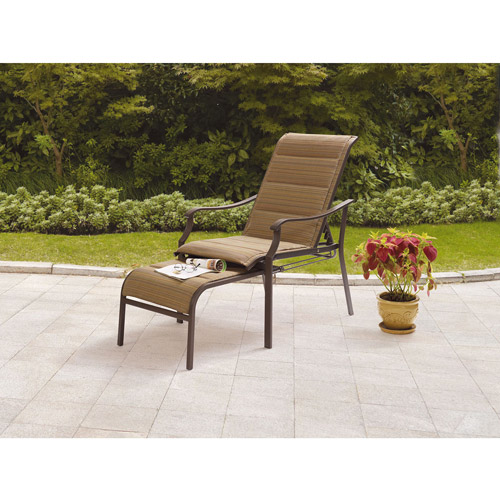 Departments  sc 1 st  Walmart & Mainstays Padded Sling Chair - Walmart.com