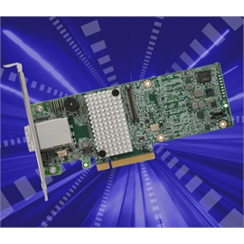LSI Logic Controller Card 05-25528-04 MegaRAID 9380-8e Single 8Port SATA/SAS PCI-Express 12Gb/s Low Profile Brown Box