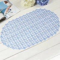 New Bathroom Tub Non-Slip Bath Floor Bubble Shower Tub Mat Plastic Rubber PVC