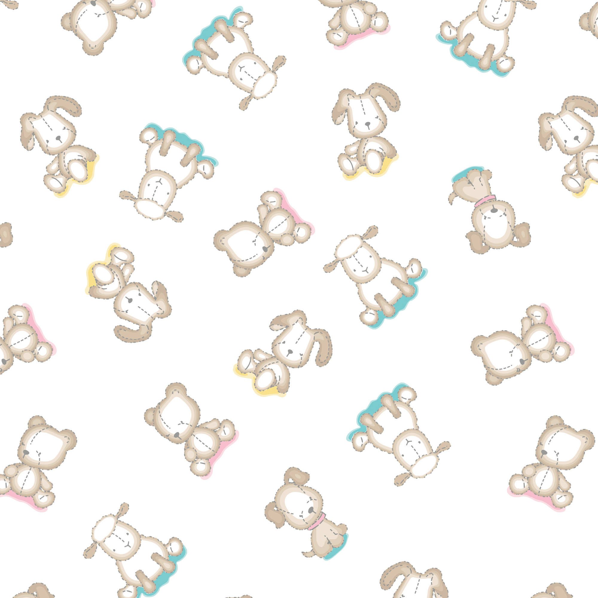 Flannel Made from Bamboo by Emma and Mila from the Baby Mine Collection - Stuffed Animals