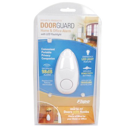 Safety Technology HP-98DG Door Guard Alarm 98db with Flashlight, Home Protection By Safety Technology International, Inc. Yard Guard Alarms